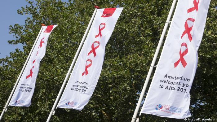 Welt-Aids-Konferenz in Amsterdam 2018