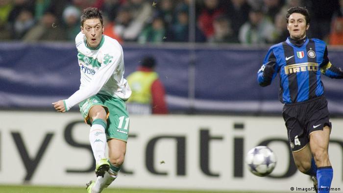 Werder Bremen Mesut Özil (Imago/Sven Simon)
