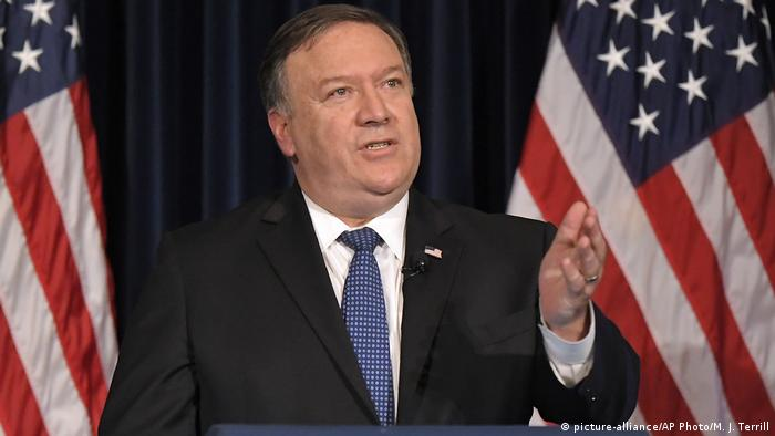 Mike Pompeo (picture-alliance/AP Photo/M. J. Terrill)