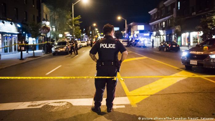 Kanada Toronto Massenschießerei (picture-alliance/The Canadian Press/C. Katsarov)