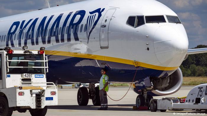 Fluggesellschaft Ryanair (Imago/Future Image)