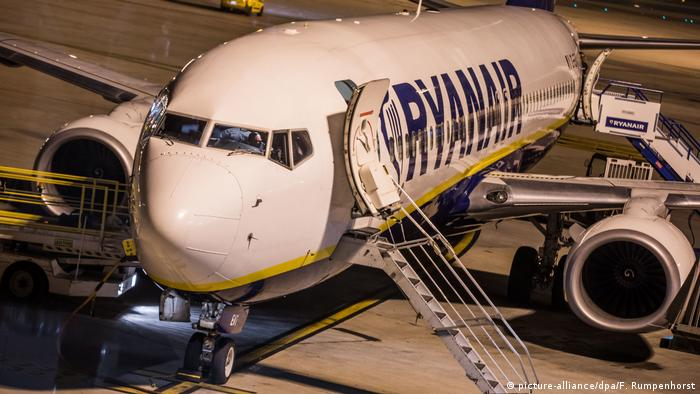 Warnstreik bei Fluggesellschaft Ryanair