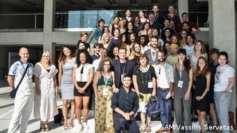 Οι συμμετέχοντες στο Θερινό Σχολείο Δημοσιογραφίας του Αριστοτελείου Πανεπιστημίου