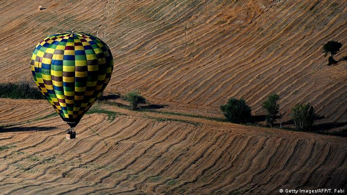 Italien - Balloon Challenge Cup (Getty Images/AFP/T. Fabi)