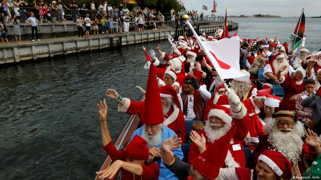 Christmas In July Ideas South Africa.Denmark Celebrates Christmas In July With Santas From