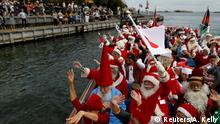 Dänemark Weihnachtsmann-Kongress in Kopenhagen