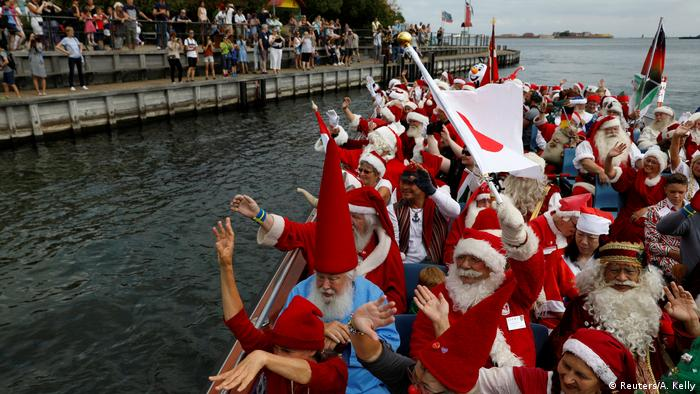 World Santa Claus Congress in Denmark (Reuters/A. Kelly)