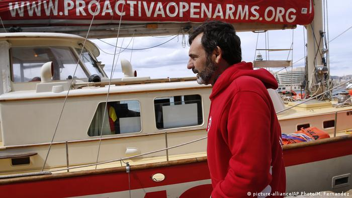 Rettungsorganisation NGO Proactiva Open Arms (picture-alliance/AP Photo/M. Fernandez)