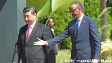 Ruanda Besuch Präsident Xi Jinping China (Getty Images/AFP/S. Maina)