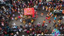 Bangladesch Manipuri beim Rath Yatra Festival