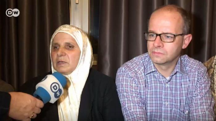 Hatidža Mehmedović sa Michaelom Brandom