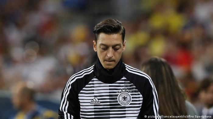 Mesut Özil in Sotschi 2018