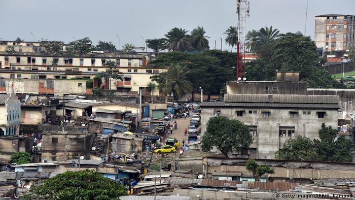 Elfenbeinküste, Yamoussoukro: Stadtansicht (Getty Images/AFP/S. Kambou)