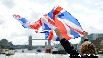 Υποστηρίκτρια του Brexit στο Λονδίνο