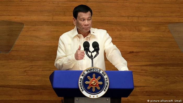 'Misogynist' Duterte slammed over sexual harassment law