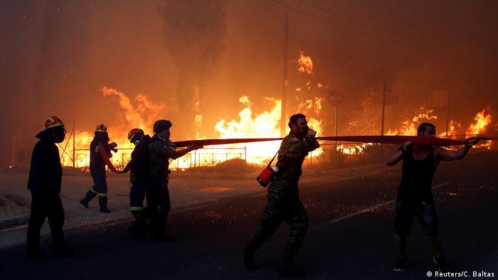 Griechenland | Waldbrände (Reuters/C. Baltas)