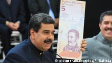 Venezuela Bolivar Banknote Geldschein Währung