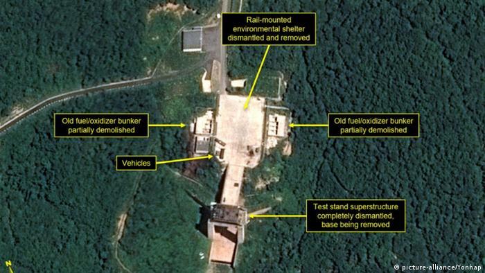 Ядерный полигон в Сохэ: снимки со спутника