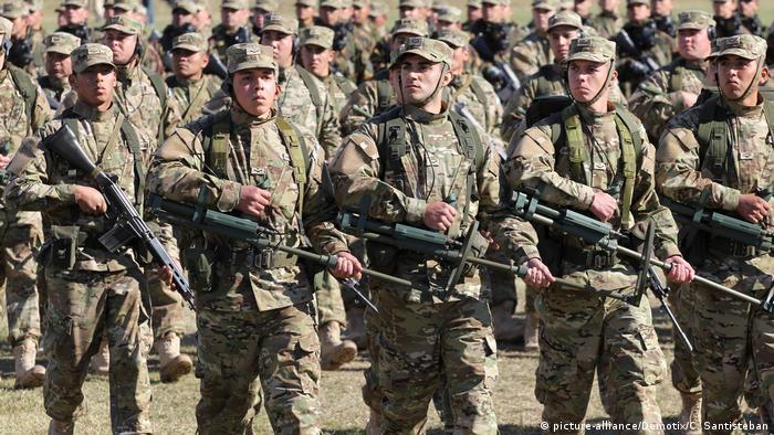 Argentinien Militär