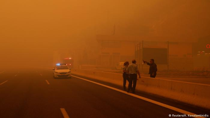 Wildfires in Greece (Reuters/A. Konstantinidis)