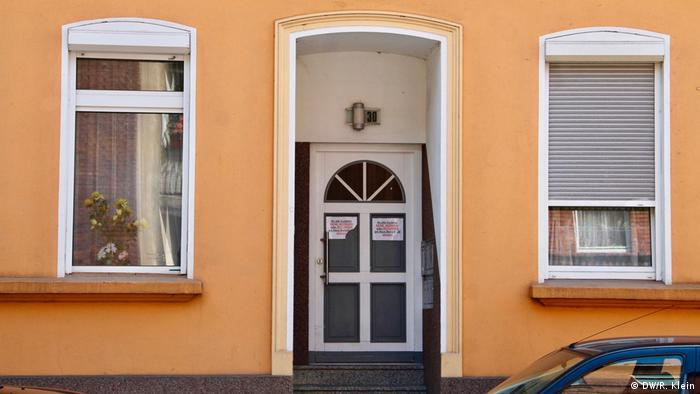 Mesut Özil's childhood home (DW/R. Klein)