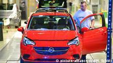 Opel Produktion in Eisenach