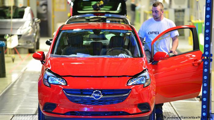 Opel Produktion in Eisenach (picture-alliance/dpa/M. Schutt)