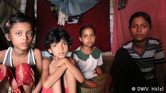 Bangladesh Rohingya-Camp (DW/V. Hölzl)