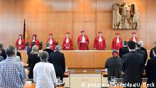Deutschland Bundesverfassungsgericht urteilt zu Psychiatrie-Patienten