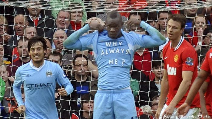 UK Mario Balotelli   Rassismus im Fussball