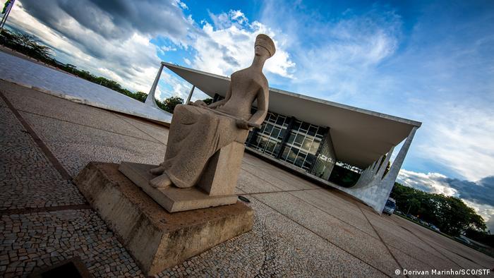 Brasilien: Fassade des Supreme Federal Courts (Dorivan Marinho/SCO/STF)