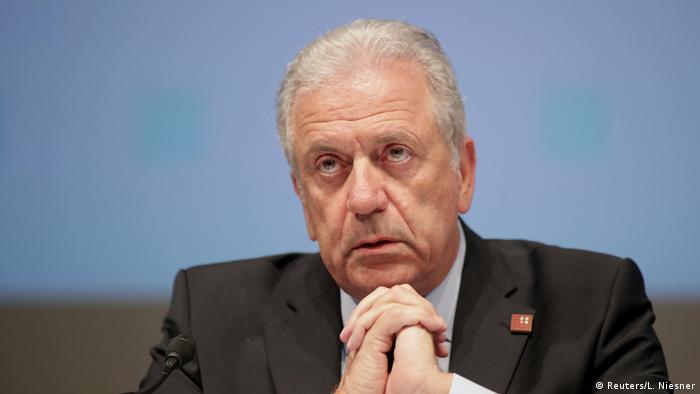 Comisarul european pentru migrație Dimitris Avramoupolos
