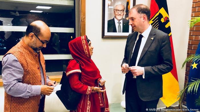 Bangladesch Besuch Niels Annen Staatsminister im Auswärtigen Amt