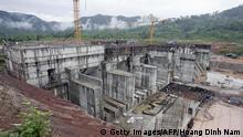 Laos Baupolitik im Mekong-Delta