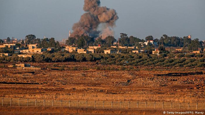Israel schießt syrischen Kampfjet über dem Golan ab