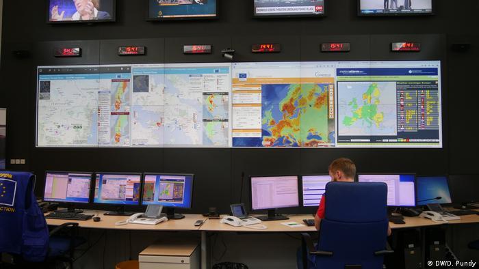 Belgien, Brüssel: Emergency Response Coordination Center