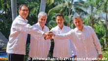 Mexiko Gipfel des Wirtschaftsverbunds Pazifik-Allianz
