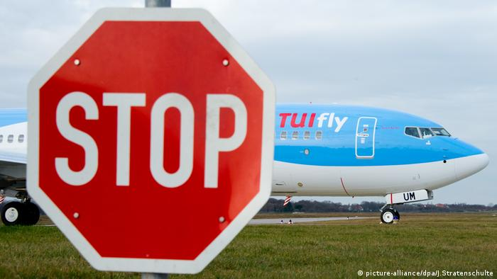 Flughafen in Hannover, Tuifly (picture-alliance/dpa/J.Stratenschulte)