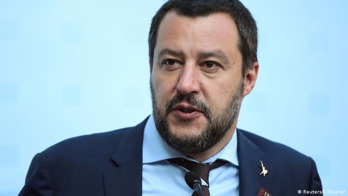 Insbruck, Italiens Inneminister Matteo Salvini