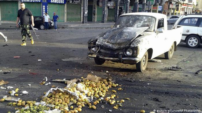 Syrien Anschlag in Sweida