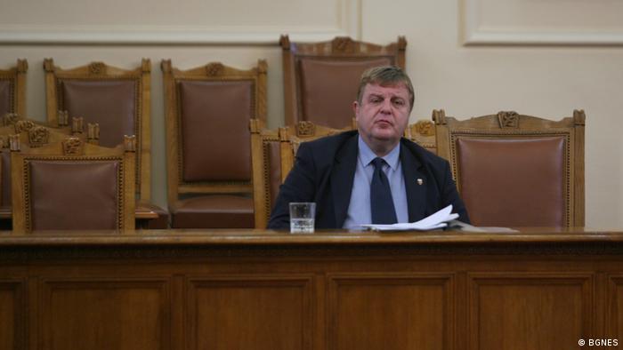 Bulgarien Verteidigungsminister Krasimir Karakachanov