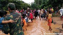 Laos Dammbruch
