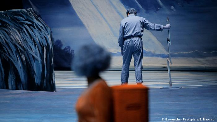 Bayreuther Festspiele 2018; Bild der Aufführung Lohengrin. (Bayreuther Festspiele/E. Nawrath)
