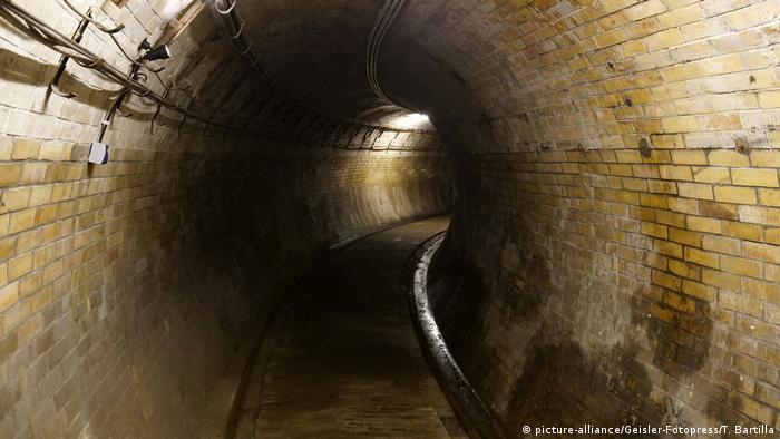 Один из подземных туннелей в Берлине
