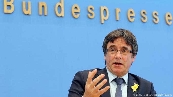 Berlin Puigdemont (picture-alliance/dpa/W. Kumm)