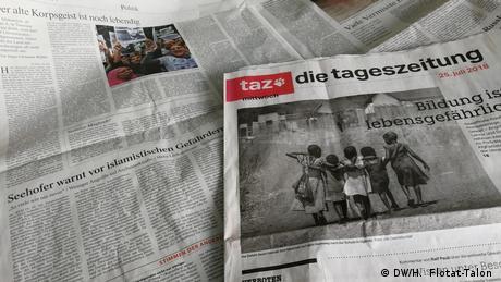 40 χρόνια εφημερίδα taz