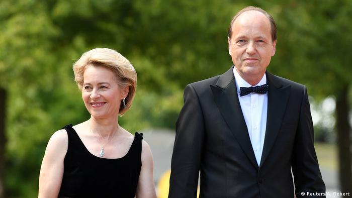 Ursula von der Leyen y su marido Heiko.