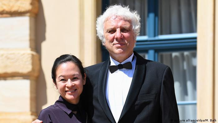 Udo Wachtveitl y su novia Lila