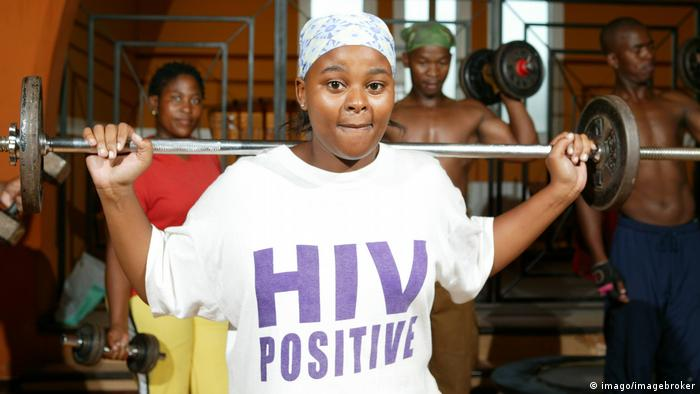 Teenager with HIV
