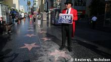 USA Walk of Fame Stern von Donald Trump beschädigt (Reuters/L. Nicholson)